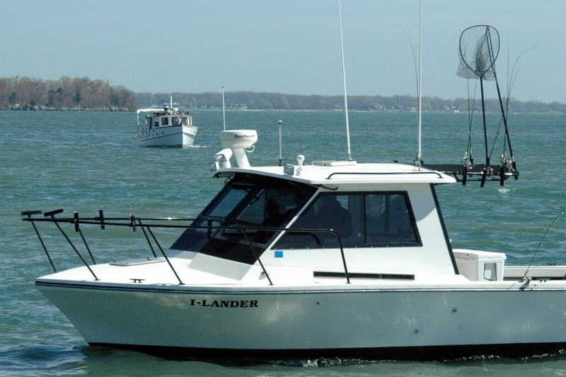 Put in bay s finest in fishing charters put in bay daily for Put in bay fishing charter