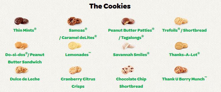 the cookies are coming the cookies are coming put in