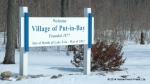 Put in Bay Village Sign