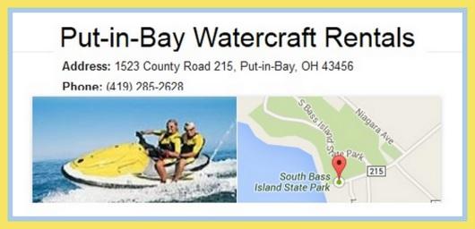 Put in Bay watercraft