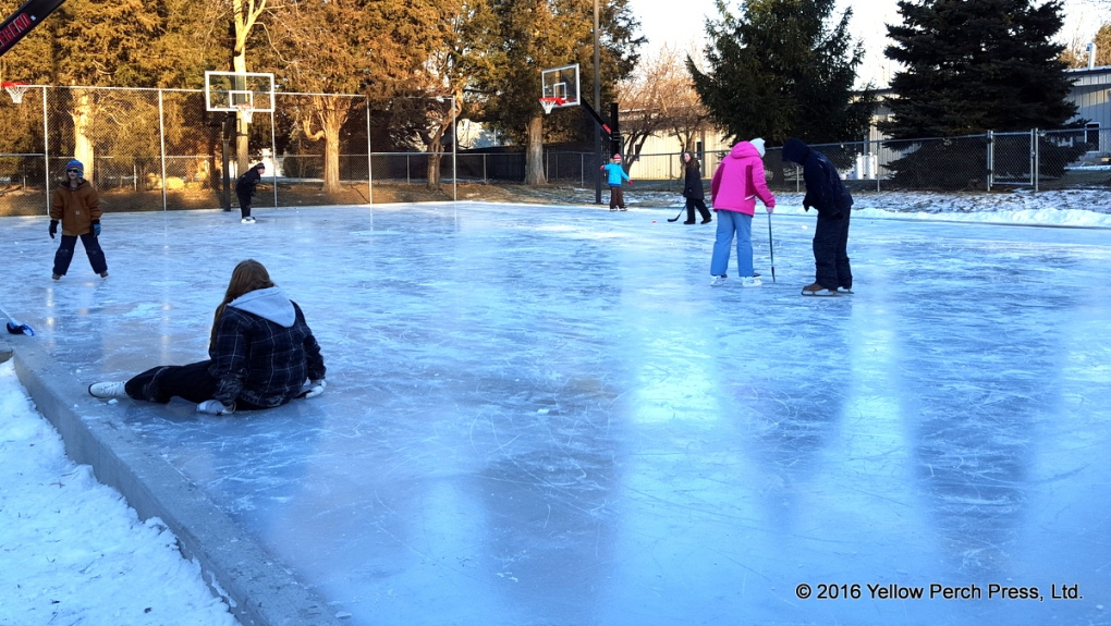 Put in Bay School ice rink