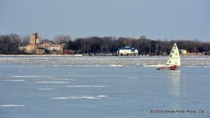 Perfect ice at Put-in-Bay