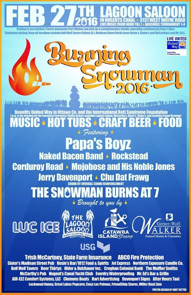 Burning Snowman 2016