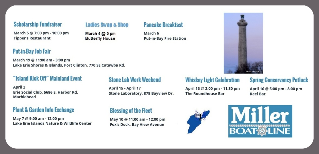 Events at Put in Bay