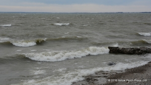 Lake Erie whitecaps