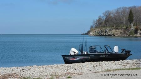 Fishing Lake Erie