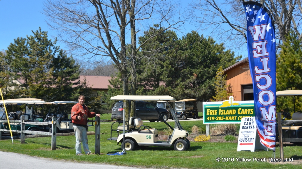 golf cart rental Put in Bay