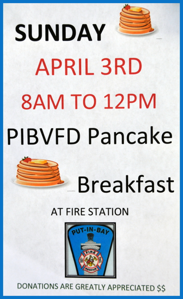 Pancakes at Fire Department