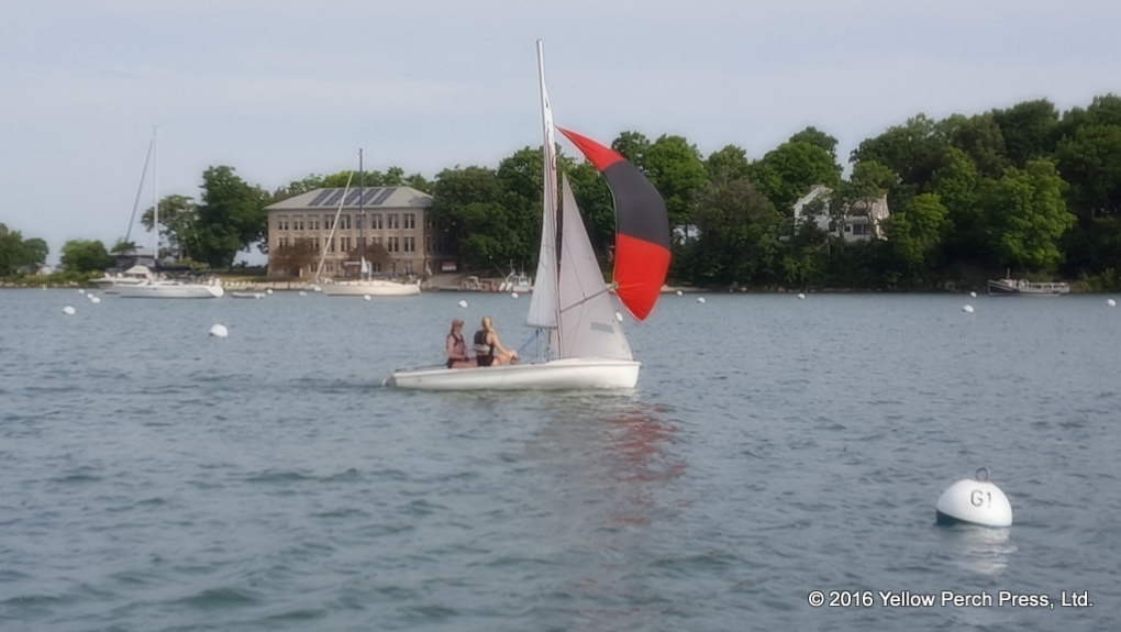 Swim Sail at Put in Bay