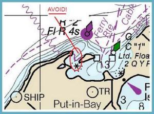 Danger zone at Put-in-Bay