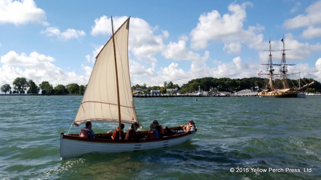 Brig Niagara Longboat