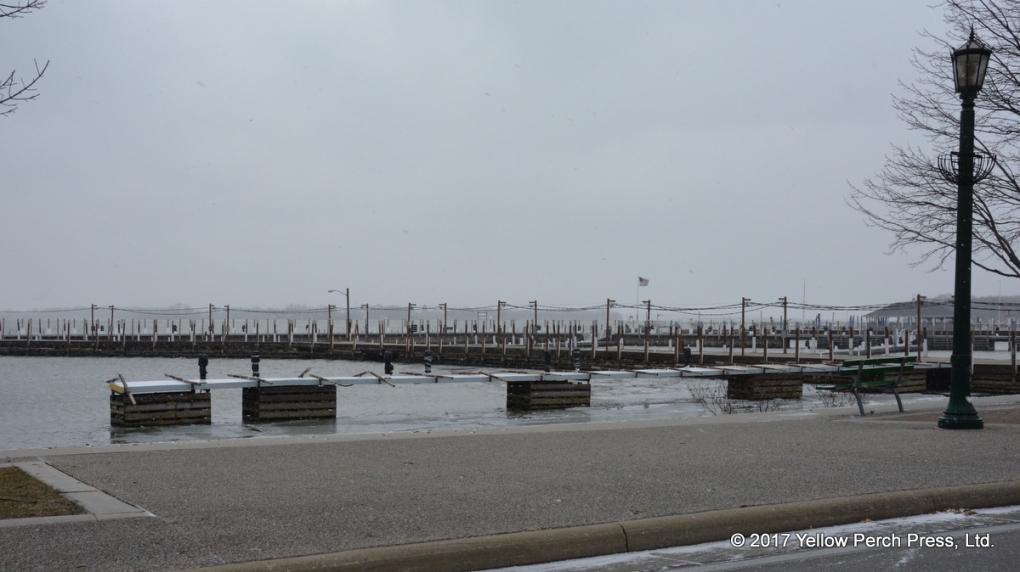 Put in Bay low water docks