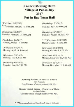 Put in Bay Town Hall