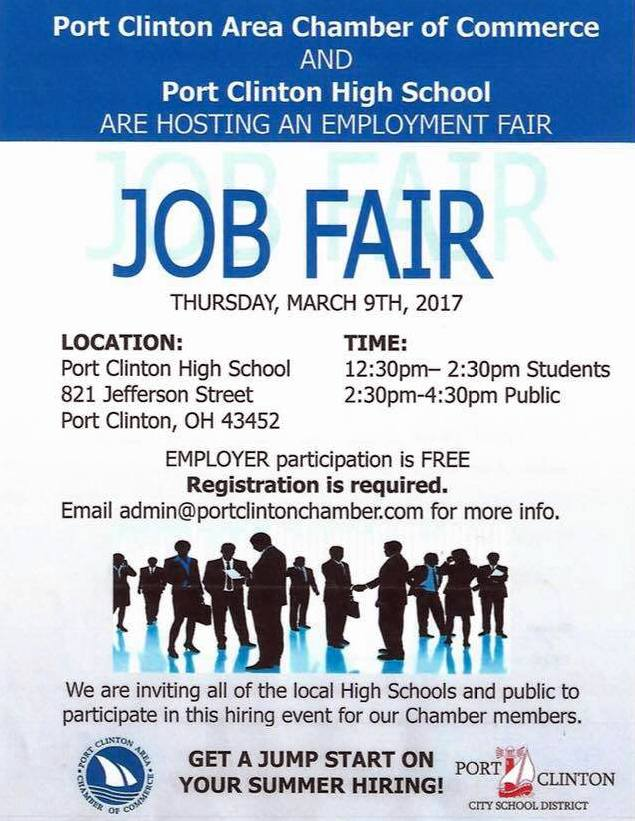 Port Clinton Job Fair