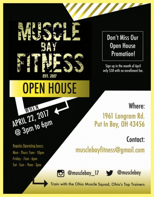 Muscle Bay Fitness Put in Bay