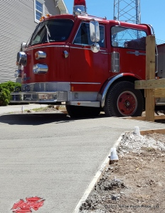 Put in Bay Fire Truck Bar
