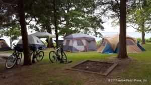 camping at Put-in-Bay