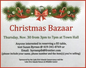 Christmas Bazaar Put in Bay