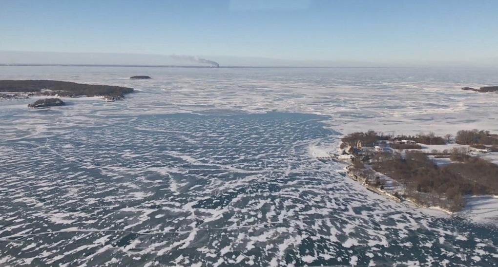 Bass Islands aerial