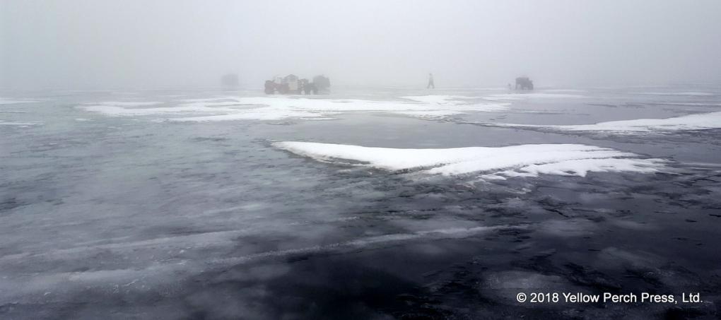 Lake Erie Ice fog