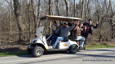 Put in Bay golf cart